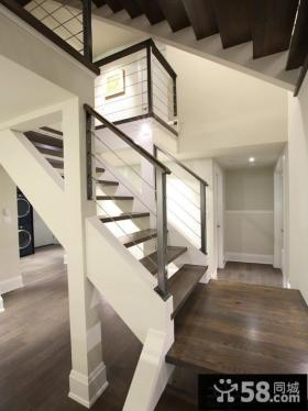 现代简约设计楼梯效果图欣赏