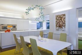 简约家用厨房餐厅装修图2014图片