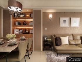 现代风格客厅相片墙设计效果图