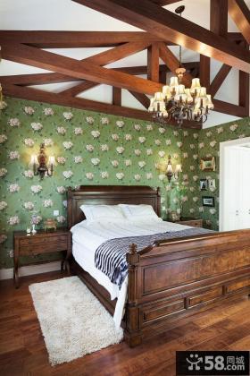 美式家装设计室内儿童房图片欣赏大全