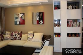 现代风格客厅装饰画图片