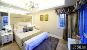 简约欧式风格卧室装修图片