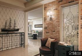 新古典家居玄关装修设计效果图片