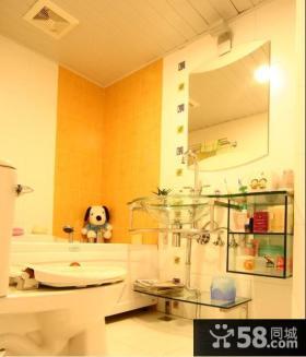 简约风格温馨浴室装修效果图