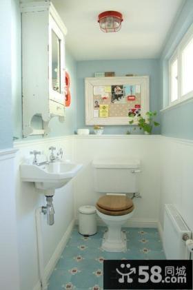 地中海风格小卫生间设计