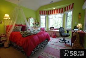 小户型卧室装飘窗修效果图大全2012