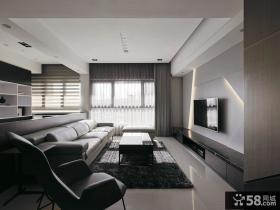 现代家居装修客厅电视背景墙