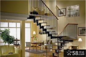 室内阁楼楼梯装修效果图
