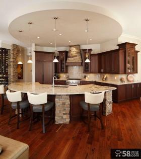 2015美式装饰厨房橱柜欣赏