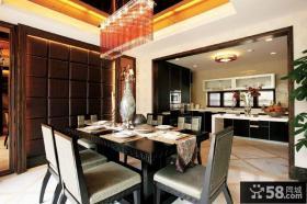 摩登新中式餐厅设计装潢