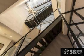 现代风格玄关楼梯装修
