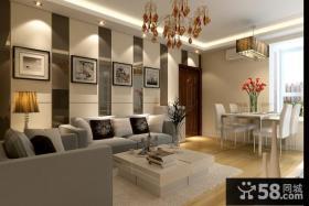 客厅沙发背景墙设计装修效果图大全2013图片欣赏