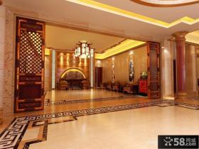 中式别墅室内装修效果图 中式装修效果图大全2012图片