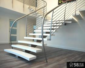 室内楼梯设计效果图片
