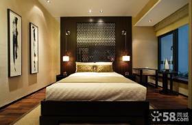 10平米中式卧室效果图大全2013图片