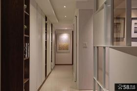 现代简约风格卧室走廊吊顶图片