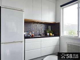 简约设计2平米厨房橱柜