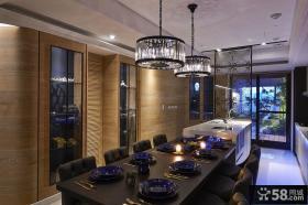 日式装修设计餐厅图片大全2014欣赏