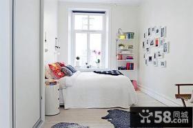 90平小户型简欧风格卧室装修效果图 清新宜人