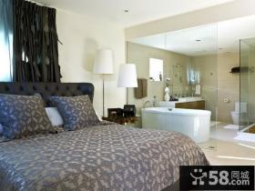 美式简欧风格卧室装修效果图