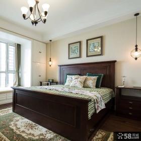 清新美式混搭卧室装修