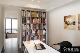 简约家居设计书房效果图