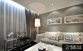 中式小户型客厅装修图片欣赏