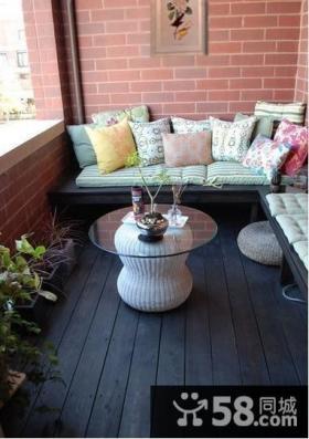家庭休闲小阳台设计