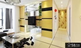 现代家居客厅电视背景墙装修图片欣赏