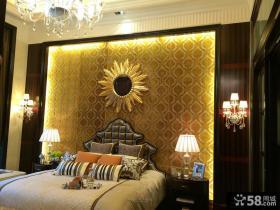 豪华别墅欧式风格卧室装修效果图片
