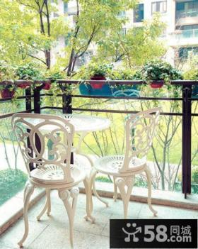 简欧设计室内阳台图片欣赏
