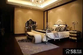欧式风格主卧室布置效果图片