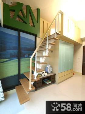 现代复式室内楼梯装饰图片