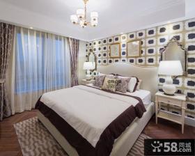 新古典风格主人卧室装修效果图