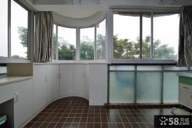 现代家居封阳台装潢