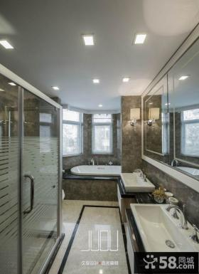 美式新古典风格卫生间图片