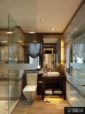 美式现代装修风格卫生间设计