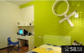 简约男孩儿童房卧室装修效果图