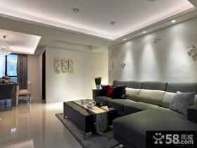 现代风格三室两厅装修图片大全欣赏2015