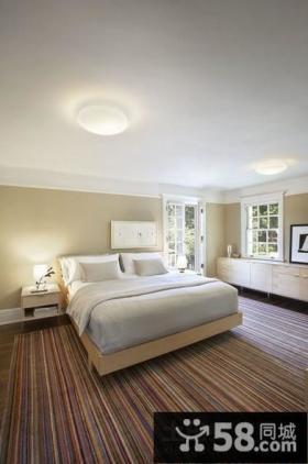 含有欧式元素的地中海风格卧室装修效果图大全2012图片