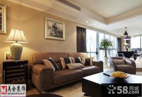 室内客厅沙发背景墙装饰画图片