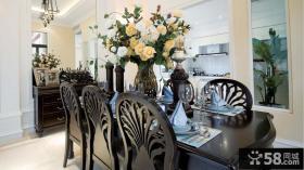 餐厅大花瓶图片欣赏