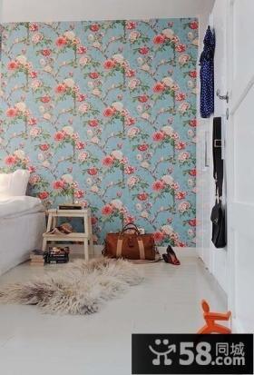 6万打造80平米田园风格家居卧室设计