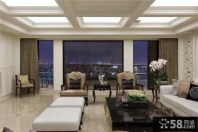 欧式风格别墅客厅设计效果图欣赏
