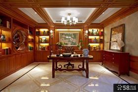 古典风格别墅书房设计图片