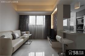 简约一居一厅室内装饰效果图