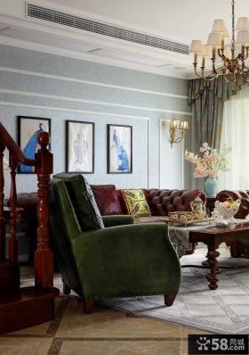 2015优质美式家装别墅样板间设计