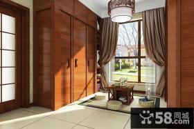 中式现代混搭风格别墅装修效果图