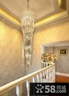 走廊水晶吊顶效果图片