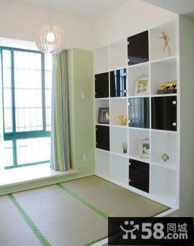 家庭设计小户型书房榻榻米